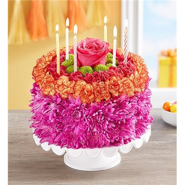 Awe Inspiring 1 800 Flowers Birthday Wishes Flower Cake Vibrant Brooklyn Ny Funny Birthday Cards Online Bapapcheapnameinfo